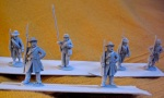 Perry ACW figures with converted sergeants