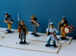ACW Perry figures with block colours