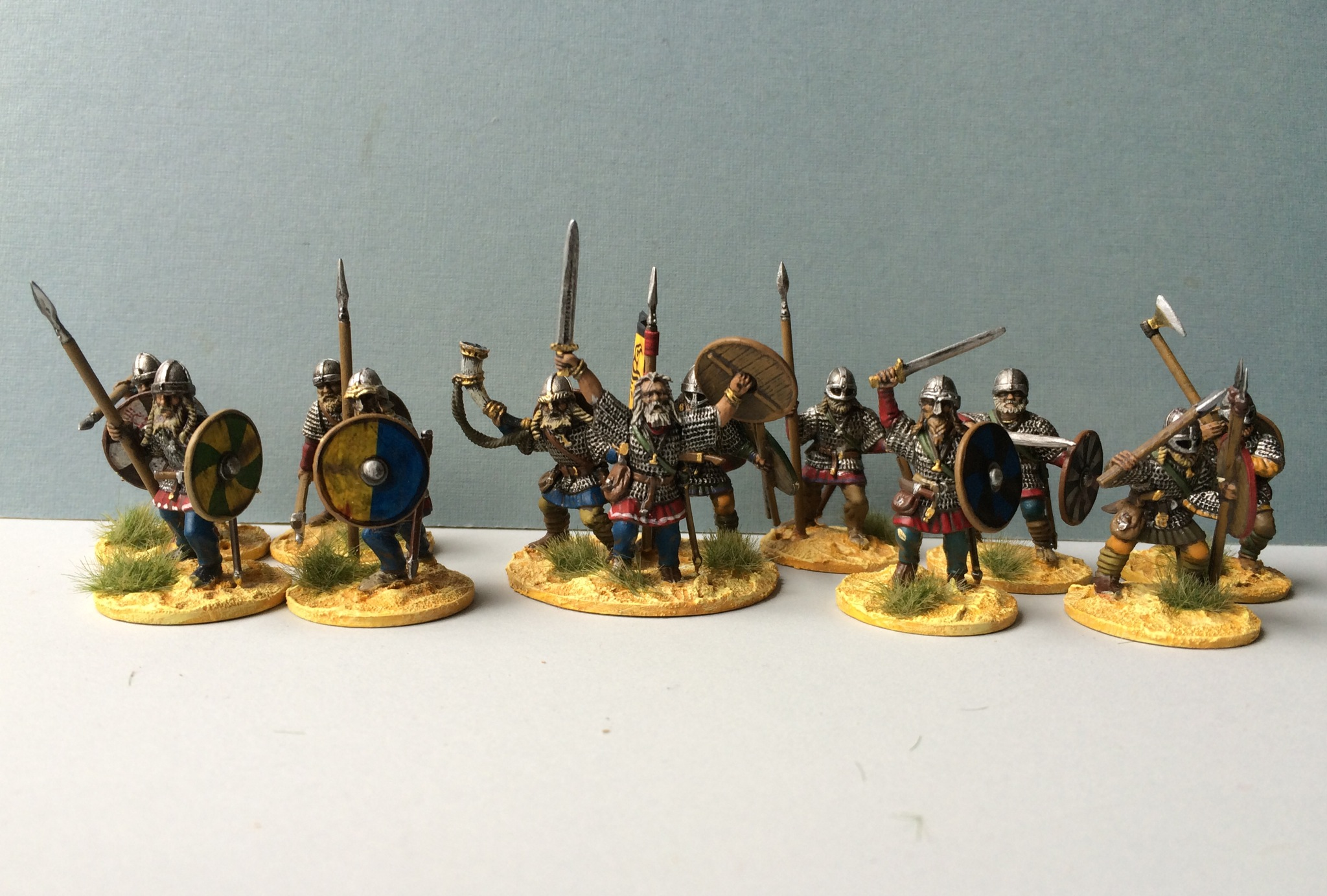 The warlord and his hearthguard