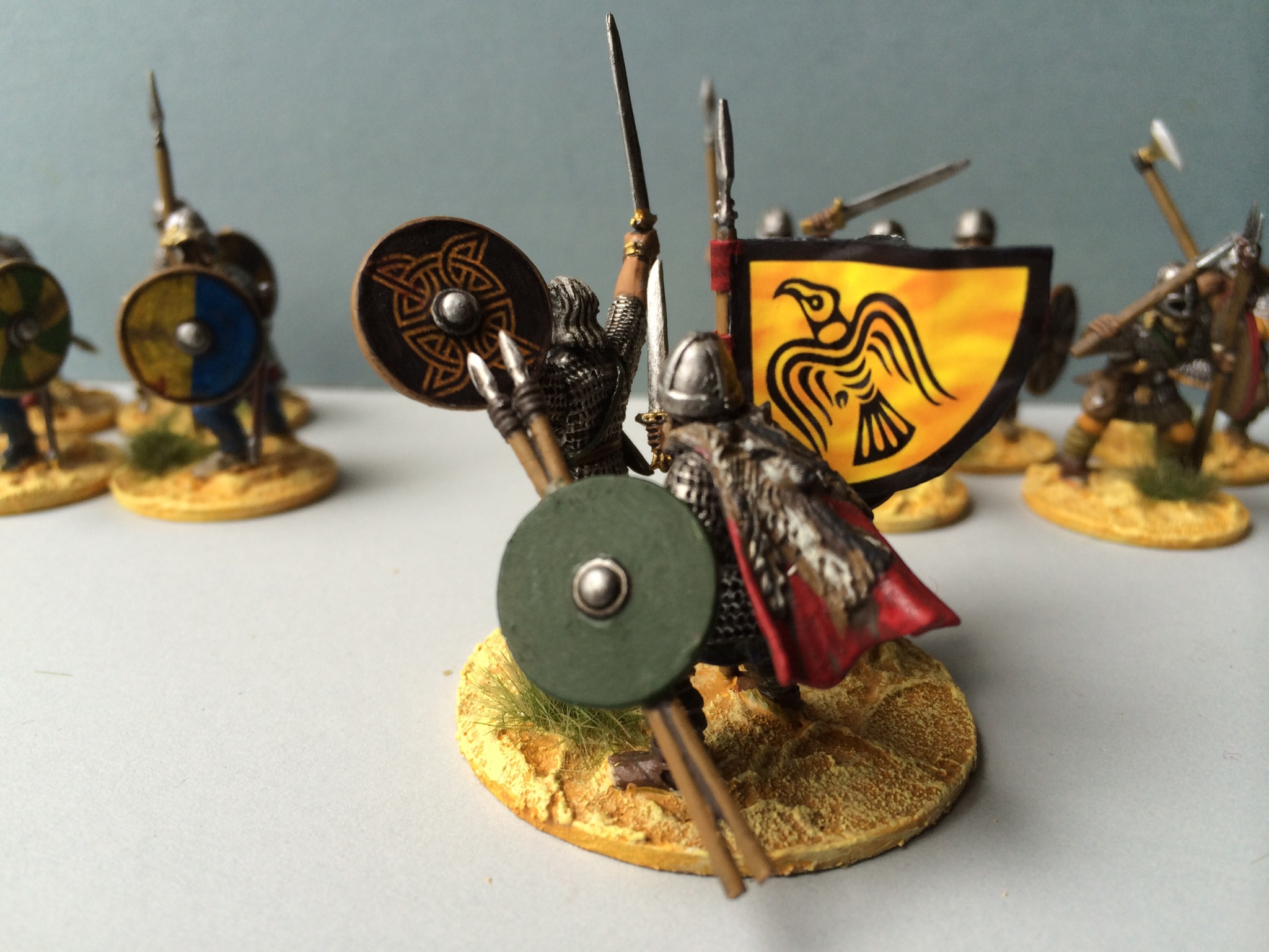 Saga ready command with flag