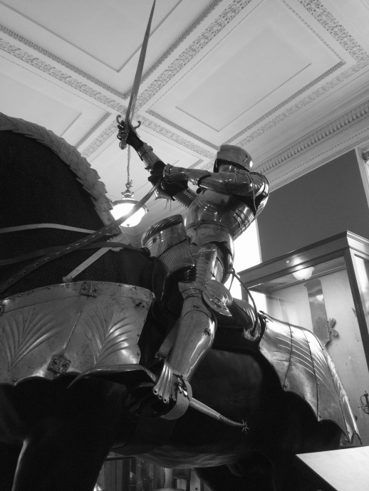 That suit of Gothic armour at the Wallace Collection