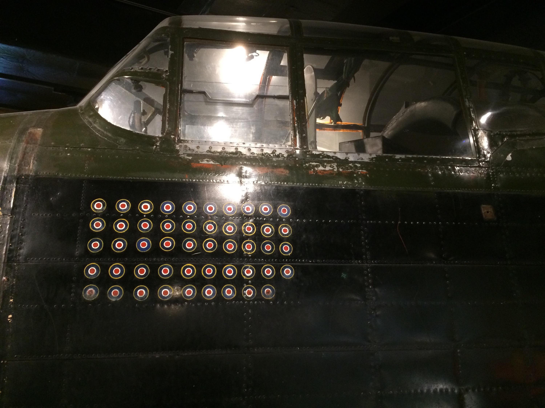 The Lancaster cockpit