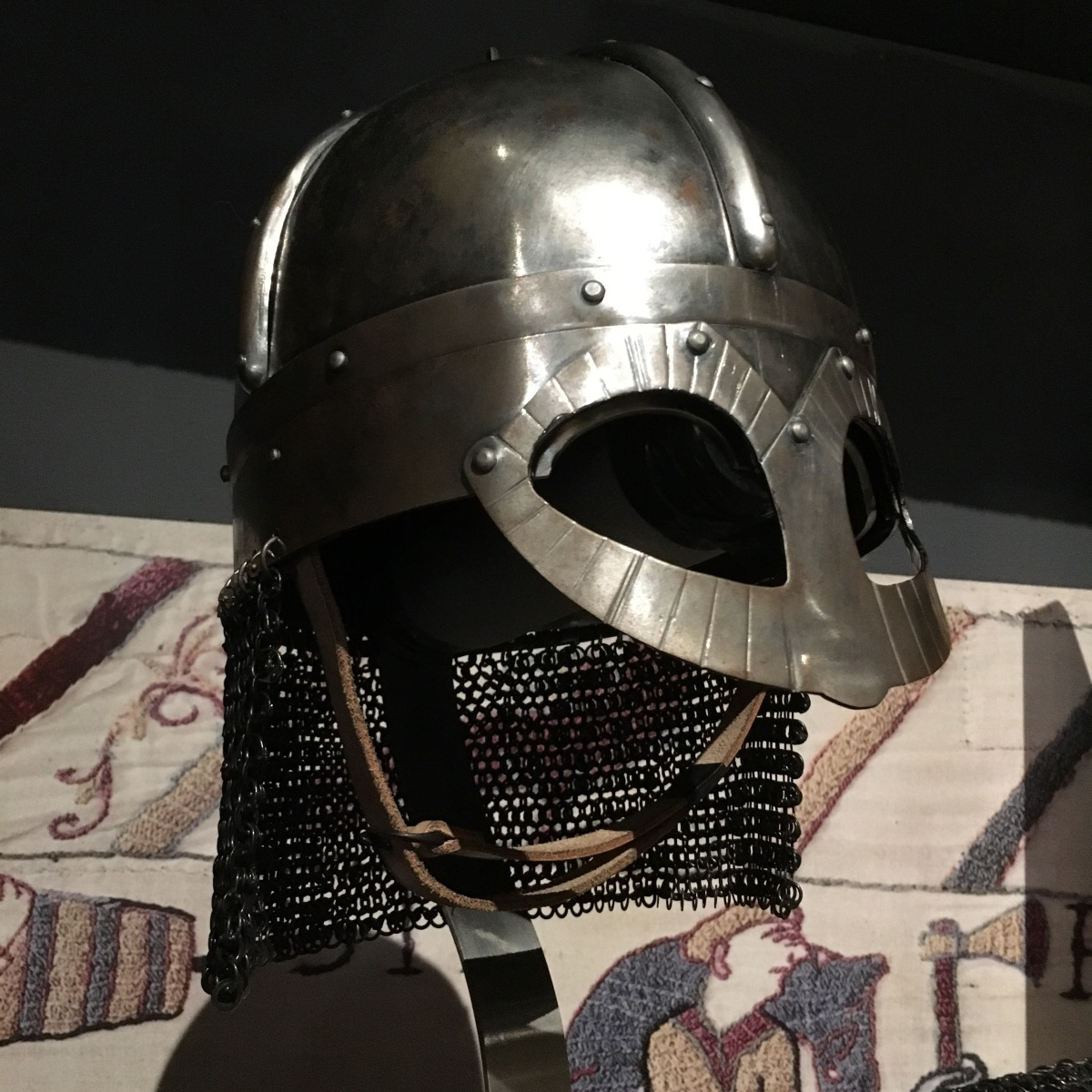 Reproduction Viking spectacle helmet