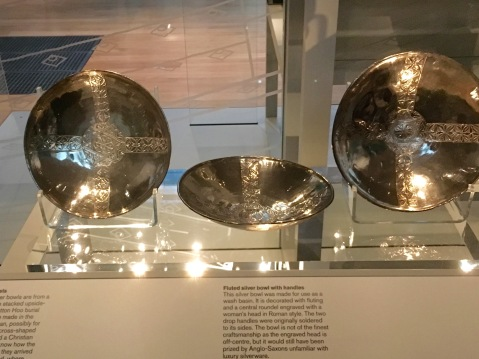 Three silver plates from the Mediterranean