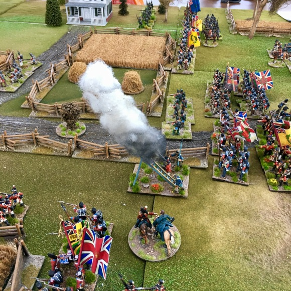 British rocket team firing